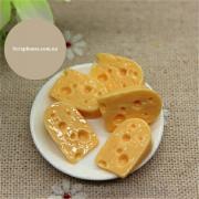 Шармик для слаймов Сыр. Размер 1,5х1,0 см